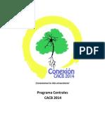 Programa Centrales Conexión 2014 (última versión)