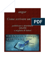 Angor- Come Scrivere Libri
