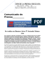 Cp090731 Memorias Buenos Aires