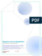 Registro de Uso Linguistico[1]
