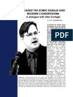 Against the Homo equalis and Modern Conservatism