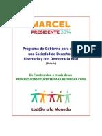 Ejes Programaticos 2.0 Todxs a La Moneda Con Marcel Claude