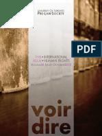 Voir Dire 2014 Issue 1