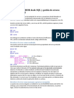 Uso de RAISERROR desde SQL y gestión de errores desde ADO