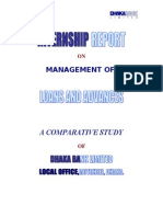 Internship Report on Management of Loan and Advances of Dhaka Bank Ltd