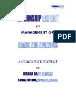 Internship Report on Management of Loan and Advances of Dhaka Bank Ltd