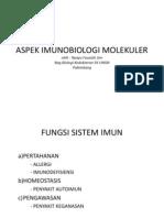 ASPEK IMUNOBIOLOGI MOLEKULER.ppt