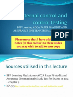 0 - 10 - LECTURE - Internal Controls - 2012.2013 - JSW - Annotated
