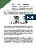 IMÁGENES SATELITALES DE ALTA RESOLUCION