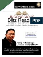 Unconscious Blitz Reading