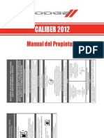 Caliber-2012 Manual de Usuario