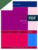 business plan breast program2