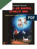 Tako je Bilo, Očiju Mi by Zlatimir Pantić (Ćirilica)