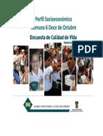 Encuesta Calidad de Vida 2008 - Perfil Comuna 6