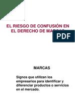 UPAO DSD Riesgo de Confusion Marcaria
