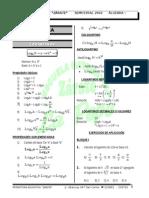Práctica - álgebra - logaritmos