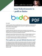 Como llenar Seductivamente tu perfil en Badoo por Evan Cid.pdf
