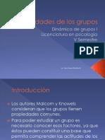 UNIDAD VIII Propiedades de Los Grupos