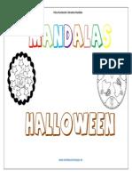 Coleccion de Mandalas de Halloween