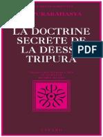 La Doctrine secrete de la deesse Tripura.pdf