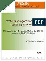 Nota de Aplicação - ModBus - GPM - VFD
