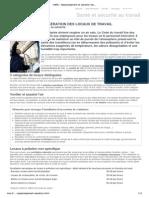 INRS - Assainissement et aération des locaux de travail