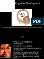 Abnormal Cognitive Development.pptx