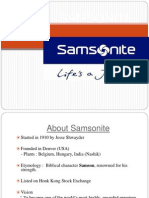 Samsonite.ppt