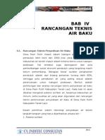 bab 4 rancangan teknis air baku new