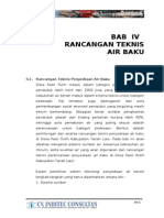 bab 4 rancangan teknis air baku new
