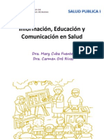 Información, Educación y Comunicación en Salud