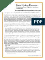 7111 Dental Hygiene Diagnosis Position Paper