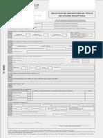FORMATO-Solicitud de Inscripcion de Titulo en Oficina Receptora