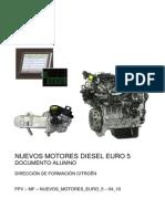 Documento Alumno Nuevos Motores Diesel Euro 5 Formador