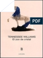 El Zoo de Cristal- Tennessee Williams