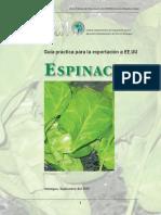 Exportacion de La Espinaca