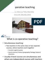 co-operative teaching