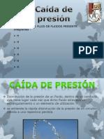 Caida de Presion