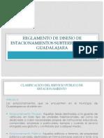 Reglamento de diseño de estacionamientos subterráneos en Guadalajara