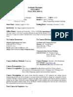 academic strategies sylllabus  student contract fall 2013-14 - copy