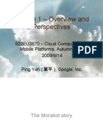 Cloud Computing and Mobile Platforms