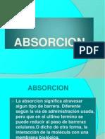 absorcion