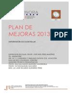 Plan de Mejoras Supervision