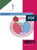 Recetario de Bebidas Ana Flores
