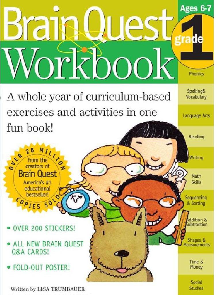 Brain Quest Workbook--Grade 1 pdf