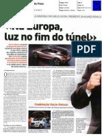 "CARLOS GHOSN, PRESIDENTE DA ALIANÇA RENAULT NISSAN NA ""AUTO FOCO"""