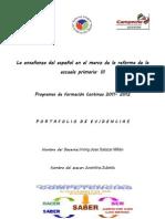 La enseñanza del español en el marco de la reforma de la escuela primaria
