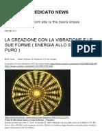 LA CREAZIONE CON LA VIBRAZIONE E LE SUE FORME .pdf