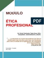 Módulo ética profesional
