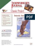 WJC181 Intarsia Eagle